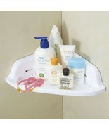Suction Cup Corner Shelf Bathroom Organizer Rack Cream Holder - $10.79