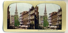Stereoview  Old South Meeting House Boston Massachusetts - $11.88
