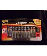 Energizer Max Alkaline A A Batteries 16 Pack E91LP16 Exp 12/2026 Longer ... - $7.91