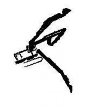Shovel 3 positions Rubber Stamp made in america free shipping equipment - $13.63