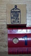 Purasnow Flour sack logo advertizing Rubber Stamp made in America #2 - $13.63