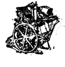 Printing Press vintage Rubber Stamp - $13.63