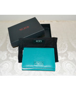 NWT $125 TUMI Double ID Card Case Small Wallet ... - $75.75