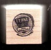 Ethyl gasoline logo Rubber Stamp  made in america USA egl - $9.46