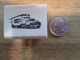 Vintage Mayflower truck 1950's  Rubber Stamp   1 1/2 x 1 1/8 inches - $14.93