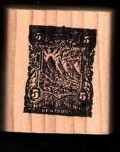 Nicaragua vintage Postage logo  Rubber Stamp made in america free shipping - $13.85