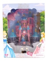 Disney Store Parks Princess Castle Playset Cinderella Aurora Magiclip Do... - $107.16