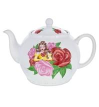 Disney Parks Belle Floral Teapot New - $51.29