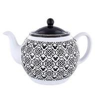 Disney Parks Mickey Icon Black Teapot New - $51.29