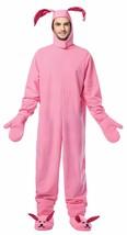 Rasta Imposta Christmas Bunny Suit Pink Adult Mens Halloween Costume GC-2900 - $53.51