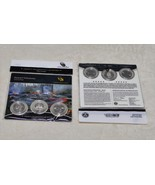 2012 US Mint Hawaii Volcanoes ATB Quarters 3 Coin Set Sealed Hard To Fin... - $29.95