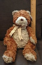 Ty Buddy Buddies  Whittle Teddy Bear 2004 (golden TY letters on the tush tag) - $3.99