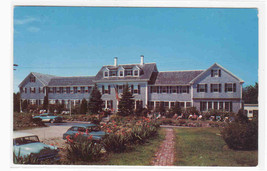 Queen Anne Inn Motel Cars Chatham Cape Cod Massachusetts 1960s postcard - $6.00