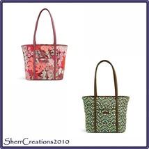 NWT Vera Bradley Small Trimmed Vera Tote Bag Shopper - $34.00