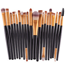 20 pcs Makeup Brushes Set Eyeshadow Eyeliner Lip Cosmetic Brush Beauty T... - $6.59