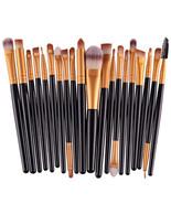 20 pcs Makeup Brushes Set Eyeshadow Eyeliner Lip Cosmetic Brush Beauty T... - $6.59