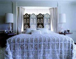 Beautiful Moroccan Wedding Blanket (Handira) Handira Blanket, Perfect for a bohe - $179.00+