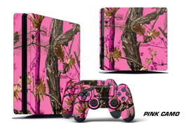 Skin Decal Wrap For PS4 Slim Playstation 4 SLIM Console + Controller Stickers PC - $9.85