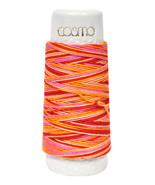 Cosmo Hidamari Sashiko Variegated Thread 30 Meters Tequila Sunrise - £4.77 GBP