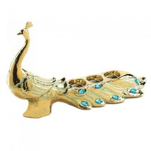 PEACOCK JEWEL CANDLEHOLDER by Gallery of Light - $45.42
