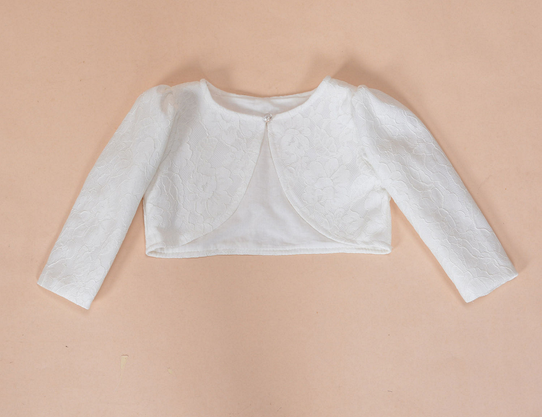 4943bdd4 Cinda Lace Long Sleeve Baby Bolero Jacket and 50 similar items