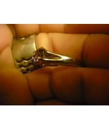 HAUNTED RING OFMALE DJINN  HIGH ENERGY POWER OF CHANGE SIZE 7  - $79.00