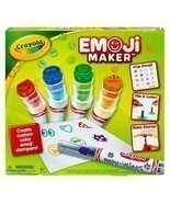 Crayola Emoji Maker, Marker Stamper Maker, Art Activity and Art Tool, Makes - $632,53 MXN