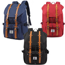 Men's Nylon Messenger Satchel School Travel Bag Large Backpack Hiking Bags - $36.99