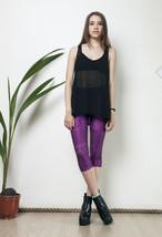 Shiny 90s vintage aztec print leggings - $38.29