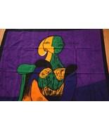 Vibrant Picasso 100% Silk Art Scarf - $69.00