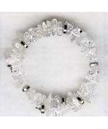 Quartz Gemstone Chip Bracelet - $13.25