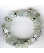 Fluorite Gemstone Chip Bracelet - $7.92