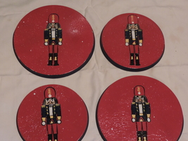 Nutcracker burner covers set of 4 PERSONALIZED FREE!! - $18.95