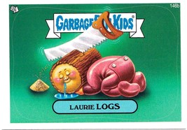 "2013 GARBAGE PAIL KIDS Brand New Series3 {BNS3} ""LAURIE LOGS"" #146b STIC... - $1.00"