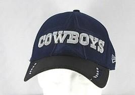 Dallas Cowboys  Blue/Black NFL  Baseball Cap Stretch Fit M/L - $22.99