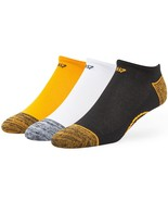 BOSTON BRUINS Men's Blade TC No Show Socks, 3 Pack - Medium - $12.95