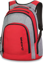 "Dakine 101 29L Mens 15"" Laptop Backpack Bag Red/Grey NEW - $84.95"
