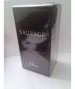 Christian Dior SAUVAGE EDT 100ml 3.4oz Eau de Toilette NEW BOX Men - $49.99