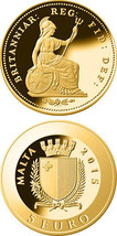 Malta GOLD Coin - THIRD FARTHING - Smallest Smallest Gold Coin Programme - $116.00