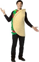 Taco Costume Adult Food Mexican Fiesta Halloween Party Unique Cheap GC311 - €42,39 EUR