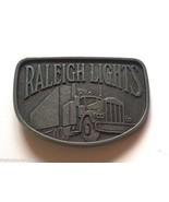 RALEIGH LIGHTS Cigarette 18-Wheeler Semi-Truck Metal Vintage Belt Buckle  - $6.99
