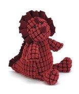 Jellycat Darling Dino Dappy Red 23cm Jelly Cat Dinosaur Baby Toy - $23.75