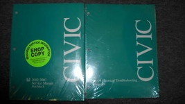2003 Honda Civic Hatchback Hatch Back Service Shop Repair Manual Set 2003 - $72.22