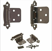 Amerock Oil-Rubbed Bronze Variable Overlay Self-Closing, Face Mount Hinge 3-Pack - $4.99