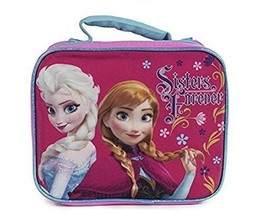 Disney Frozen Anna Elsa Back To School Glittery Lunch Box By Fast Foward... - $13.85