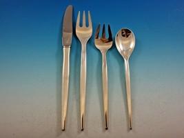 Tulip by Michelsen Sterling Silver Flatware Set Service 32 pc Mid Century Modern - $2,895.00