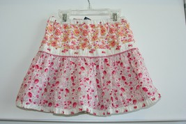 GapKids Girls XS 4-5 Floral Tiered Skirt with lining - $8.90