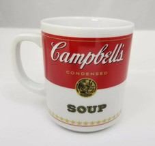 Vintage Campbell's Condensed Soup Coffee Mug Tea Cup 1981 Porcelain Corning - $12.59