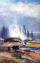 1988 Coleman Passing Showers Yellowstone National Park Stamp Print LE Si... - $79.99