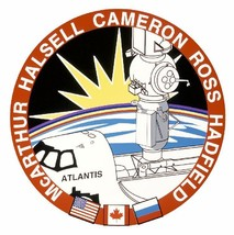 STS-74 Nasa Atlantis Sticker M558 Space Program - $1.45+